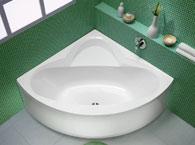 Угловые ванны и их виды